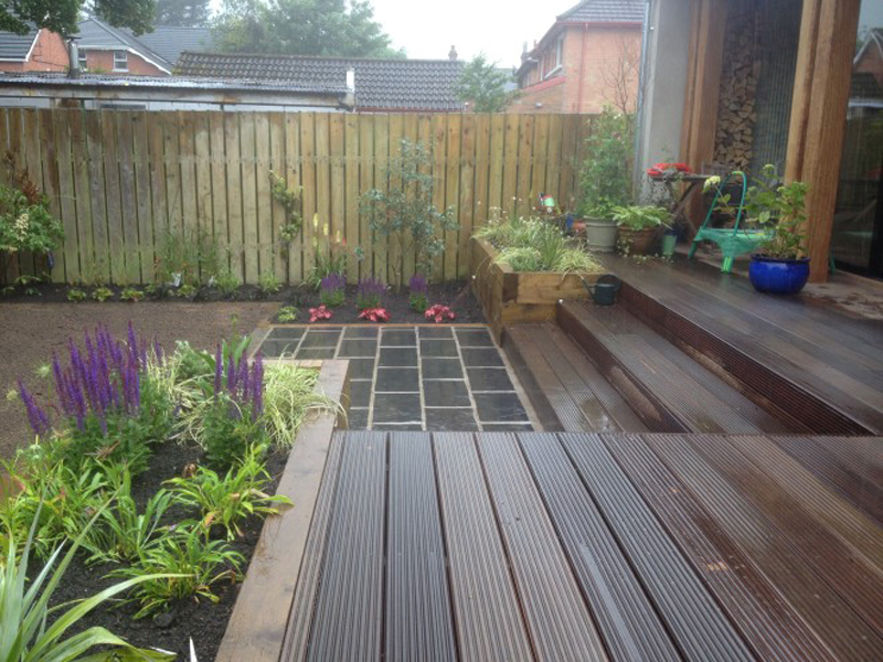 The Landscape Company NI Decking 1
