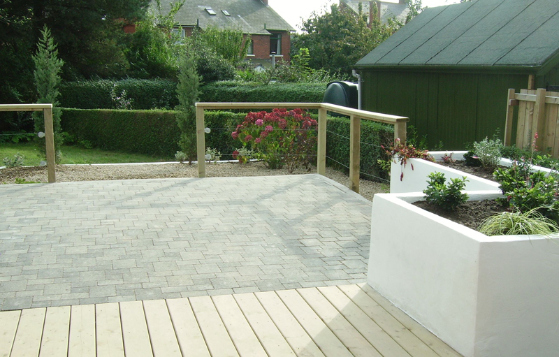 The Landscape Company NI Decking 2