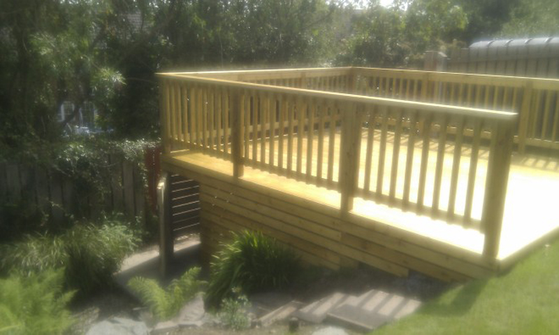 The Landscape Company NI Decking 4