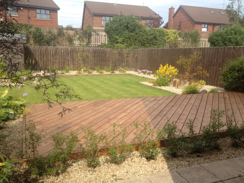 The Landscape Company NI Decking 5