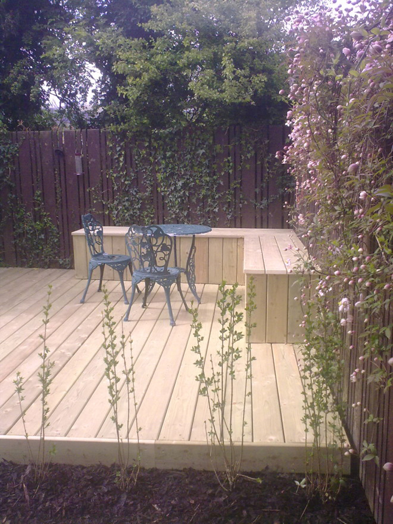 The Landscape Company NI Decking 7