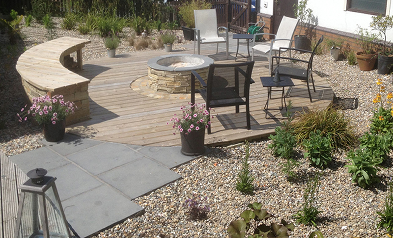 The Landscape Company NI Decking 8